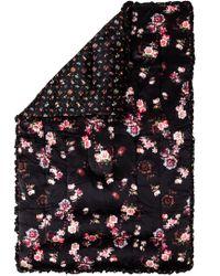 Preen By Thornton Bregazzi - Grid Floral Quilted Eiderdown - Lyst