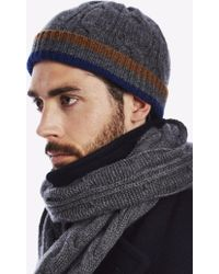 Private White V.c. - Cable Knit Hat - Lyst