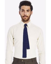 Private White V.c. - Moss Stitch Knitted Tie - Lyst