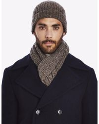 Private White V.c. - Ribbed Beanie Hat - Lyst
