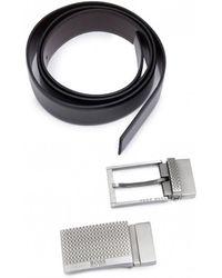 BOSS - Gioele Two Buckle Belt Gift Set - Lyst