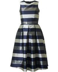 BOURNE - Una Striped Full Skirt Dress - Lyst