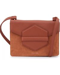 Ted Baker - Keeper Detail Cross Body Bag - Lyst