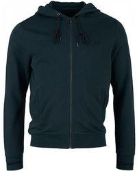 Fred Perry - Zip Through Hooded Sweatshirt - Lyst
