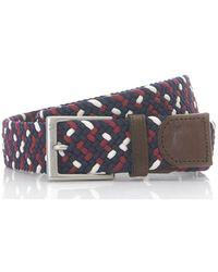 Fred Perry - Patterned Woven Belt - Lyst
