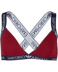 442b94723a8e62 Lyst - Women s Emporio Armani Lingerie Online Sale