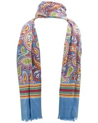 Pretty Green - Vintage Paisley Scarf - Lyst