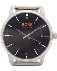 BOSS Orange - Stockholm Silver Bracelet Strap Watch - Lyst