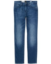 BOSS by Hugo Boss - Deleware 3 Slim Cashmere Touch Jeans - Lyst