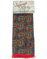 Tootal - Paisley Reversible Silk Scarf - Lyst