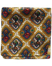 Tootal - Mosaic Print Silk Handkerchief - Lyst