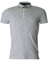 BOSS Black - Platt 08 Striped Slim Fit Polo - Lyst
