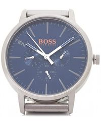 BOSS Orange - Copenhagen Stainless Steel Blue Face Wat - Lyst