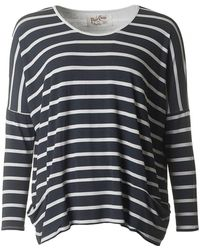 A Postcard From Brighton - Brighton Striped Pammy Top - Lyst