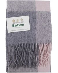 Barbour - Wilton Lambswool Scarf - Lyst