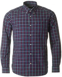 Barbour - Henry Tattersal Checked Shirt - Lyst