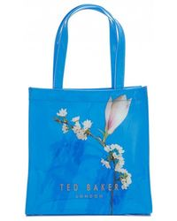 Ted Baker - Harmony Print Pv Large Icon Bag - Lyst
