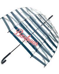 Barbour - Striped Bubble Umbrella - Lyst