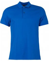 J.Lindeberg - Troy Short Sleeved Pique Polo - Lyst
