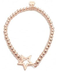Olia Jewellery - Aimee Single Star Detail Bracelet - Lyst