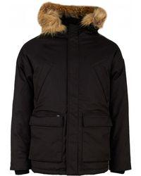 Nobis - Black Heritage Parka Jacket - Lyst