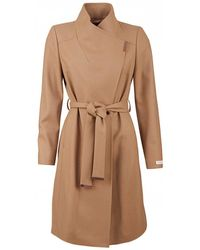 Ted Baker - Sandra Wrap Wool Coat - Lyst