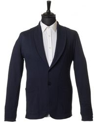 Uniforms for the Dedicated - Wes Shawl Jersey Blazer - Lyst
