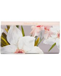 Ted Baker - Chatsworth Travel Wallet - Lyst