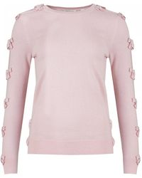 Ted Baker - Bow Sleeve Knit - Lyst