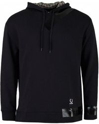 Fred Perry - Taped Detail Hooded Sweat - Lyst