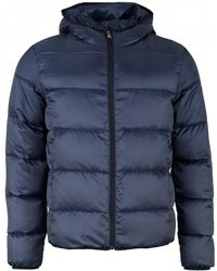 Paul And Shark - Hooded Down Jacket - Lyst