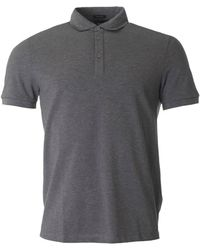 BOSS Black - Press Short Sleeved Nylon Trim Polo - Lyst