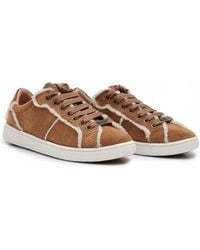 UGG - Milo Spill Seam Suede Lace Up Trainers - Lyst