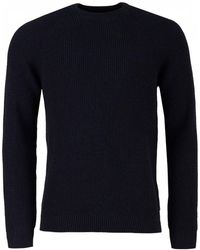 Barbour - Manor Ribbed Crew Neck Knit - Lyst
