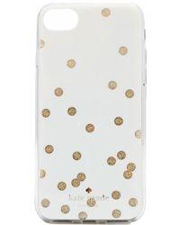 Kate Spade Glitter Scatter Dot Iphone 8 Case
