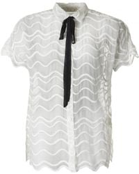 Little White Lies - Simone Wave Pattern Shirt - Lyst