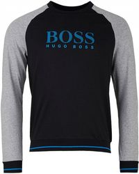 BOSS by Hugo Boss - Authentic Crew Neck Sweat - Lyst