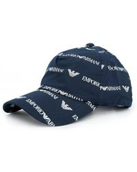 acd521d9cfd59 Armani Jeans - All Over Script Logo Cap - Lyst