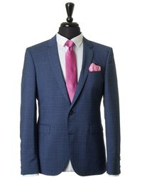 HUGO - Phil Taylor Prince Of Wales Check Suit - Lyst