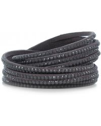 Olia Jewellery - Sadie Sparkle Wrap Bracelet - Lyst