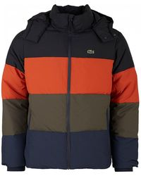 Lacoste - Classics Poly Puffer Jacket With Funnel Neck - Lyst