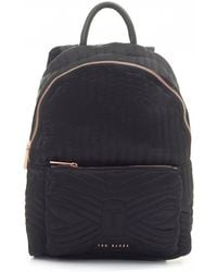 Ted Baker - Quilted Bow Backpack - Lyst