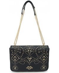 Moschino - Studded Shoulder Bag - Lyst
