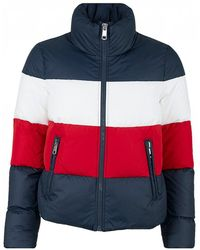 Tommy Hilfiger - Tyra Boxy Tri Colour Jacket - Lyst