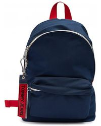 Tommy Hilfiger - Tj Logo Tape Mini Backpack - Lyst