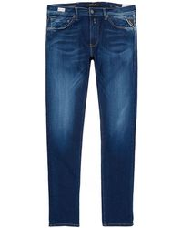 Replay - Jondrill Skinny Fit Hyperflex Jeans - Lyst
