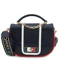 Tommy Hilfiger - Leather Medium Crossbody Bag - Lyst