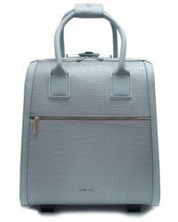 Ted Baker - Croc Nylon Suitcase - Lyst