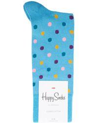 Happy Socks   Essentials Dot Socks   Lyst