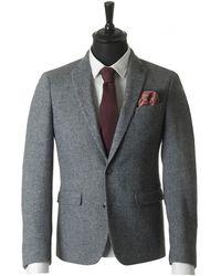Remus - Tweed Blazer - Lyst